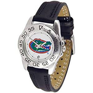 Florida Gators NCAA Sport Ladies Watch (Leather Band) by SunTime