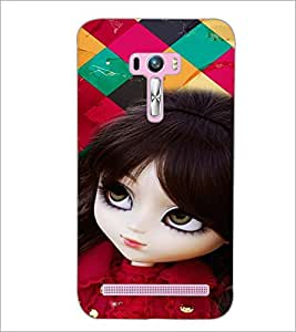 PrintDhaba Cute Doll D-4660 Back Case Cover for ASUS ZENFONE SELFIE ZD551KL (Multi-Coloured)
