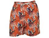 Club Room Seahorse Print Swim Trunks