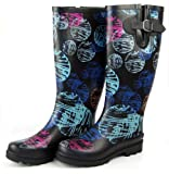Roxy Jody Wellies - Hazel Brown
