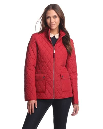 Tommy Hilfiger Women's Quilted Jacket  [Red]