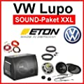 VW Lupo Lautsprecher Subwoofer komplette Soundanlage von Eton auf Reifen Onlineshop