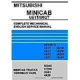 Mitsubishi Minicab/Townbox U61T/U62T Full Mechanical English Service Manual