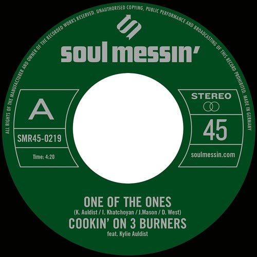 Vinilo : Cookin' on 3 Burners - One Of The Ones /  Force Of Nature (7 Inch Single)