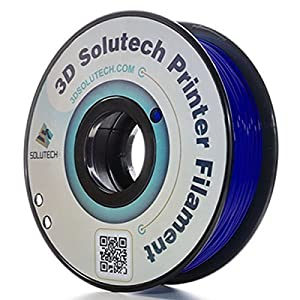 3D Solutech Navy Blue 3D Printer PLA Filament 1.75MM Filament, Dimensional Accuracy +/- 0.03 mm, 2.2 LBS (1.0KG) - 100% USA
