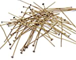 Beads Unlimited 2-inch Metal Headpin,...