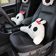 Lumbar Pillow Lumbar Support Cushion Big Eyes Rabbit Small