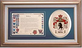Aberlin Family Name History and Coat of Arms / Family Crest