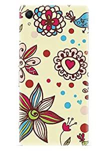 Spygen Premium Quality Designer Printed 3D Lightweight Slim Matte Finish Hard Case Back Cover For Sony Xperia Z2