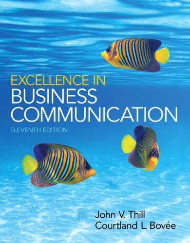 Excellence in Business Communication with MyBCommLab Access Card Package