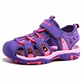 BODATU Boys' and Girls' Summer Outdoor Beach Sports Closed-Toe Sandals(Toddler/Little Kid/Big Kid)
