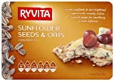 Ryvita Sunflower Seeds and Oats Crispbread 200 G (Pack of 10)