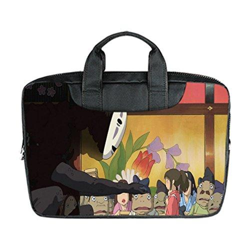 DONGMEN Best Halloween Presents Spirited Away Designed Laptop Bags Nylon Waterproof 15 Inch Laptop Shoulder Bags(Twin (Reddit Halloween Costume)