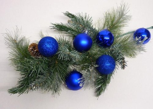 Christbaumkugeln blau angebote for Christbaumkugeln blau