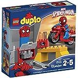 LEGO Super Heroes Spider-Man Web-Bike Workshop Building Kit