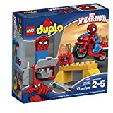 LEGO Super Heroes Spider-Man Web-Bike Workshop Building Kit
