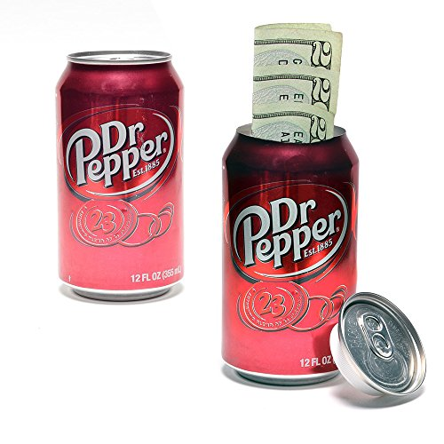 Diversion Can Safe Disguised Secret Stash Hider Dr. Pepper (Soda Can Stash compare prices)