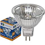10 LONG LIFE MR16 50w Halogen Bulbs GU5.3 Lamp 12v Halogen with Aluminium Reflector