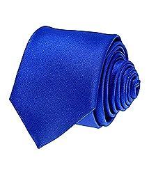 Greyon Solid Royal Blue Neck Tie (GNA013)