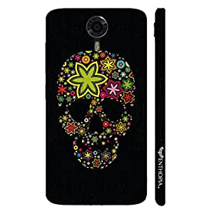 Micromax Canvas Xpress 2 Pimped up Skull designer mobile hard shell case by Enthopia