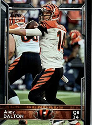 2015 Topps #47 Andy Dalton - Cincinnati Bengals (NFL Football Cards)