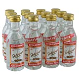 Stolichnaya Russian Vodka 5cl Miniature - 12 Pack