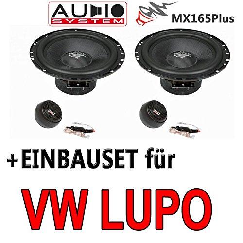 VW Lupo - Audio System MX165 - 16cm Lautsprechersystem - Einbauset
