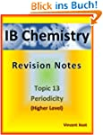 IB Chemistry: 13 Periodicity Revision...
