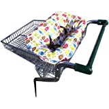 The bumfy - a cushioned seat to keep baby comfortable in a shopping trolley, high chair or swing. 100% Organic cotton!
