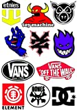 Skateboard Stickers x 11
