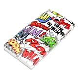 DeinPhone Comic Boom Hardcase Cover Bumper for Sony Xperia U