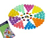 Bundle Monster New Magic Water Crystal Multi Color Mud Potting Soil Beads Pack - 100 Bags