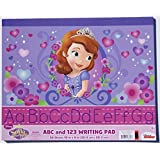 "Sofia The First ABC And 123 Writing Pad - 30 Sheets - 10"" X 8"""