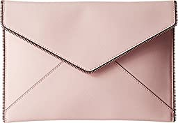 Rebecca Minkoff Leo Clutch, Pale Blush, One Size
