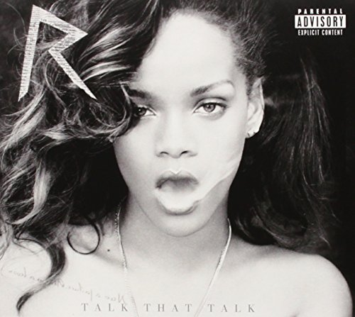Rihanna Talk That Talk Cd Cover Art Birthday Cake