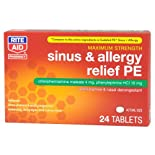 Rite Aid Sinus & Allergy Relief PE, 24 ea
