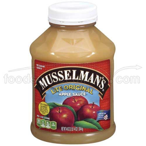 Musselman's Apple Sauce Lite - 8 Pack (Lite Apple Sauce compare prices)