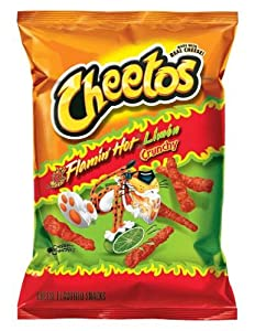 Cheetos Crunchy Flamin' Hot Limon, 9.75oz Bags (8pk)