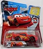 Disney Pixar Cars - Lenticular Series 2 - Chase Flash McQueen with Rust-Eze