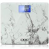 iDOO Precision Digital Bathroom Scale 440lb/200kg with Jumbo Steady Platform