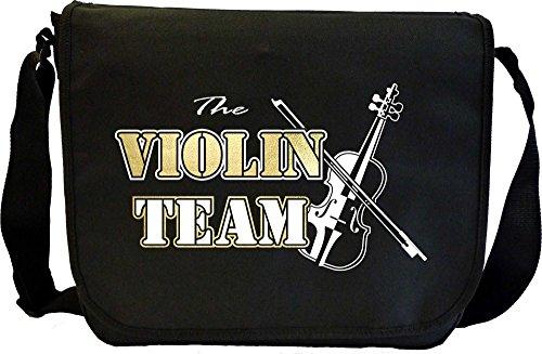 Violin Team - Sheet Music Document Bag Borsa Spartiti MusicaliTee