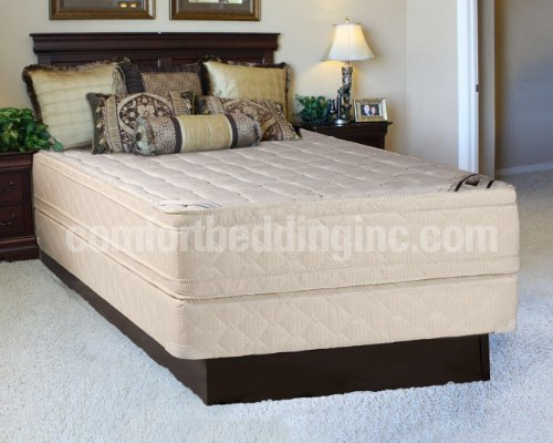 Queen Size Pillow Top Mattress Set front-16018