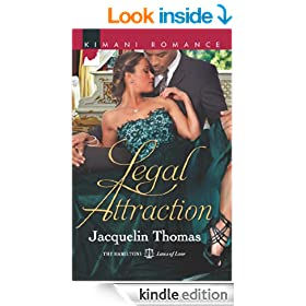Legal Attraction (Mills & Boon Kimani) (The Hamiltons: Laws of Love - Book 3)