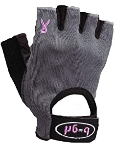 Saranac b-grl Women's just4me Fitness Glove (Gray, X-Small)