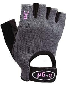 Saranac b-grl Women's just4me Fitness Glove (Gray, X-Small)