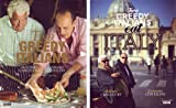 TWO GREEDY ITALIANS and TWO GREEDY ITALIANS EAT ITALY: 2 BOOKS COLLECTION Antonio Carluccio