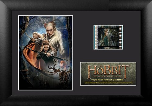 Filmcells Hobbit Desolation of Smaug Minicell Framed Art (S3) - 1