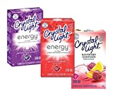 Crystal Light 3 Flavor Sugar-Free On-The-Go Drink Mix Variety Pack, 10 Count Each(Pack of 3)