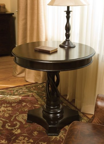 Raquelle Dark Round Table 30 Inch