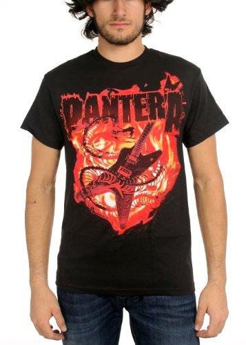 Pantera - - Guitar Snake da uomo a maniche corte T-Shirt in nero